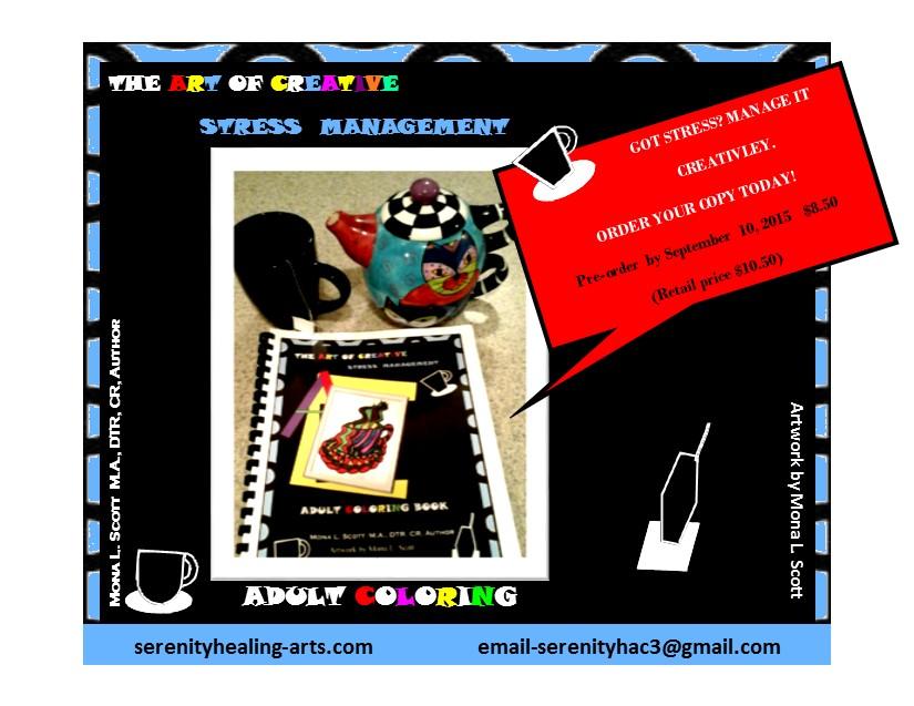 Coloring Book Promo Card
